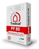 Tradical - PF 80 (20kg) Chaux blanche