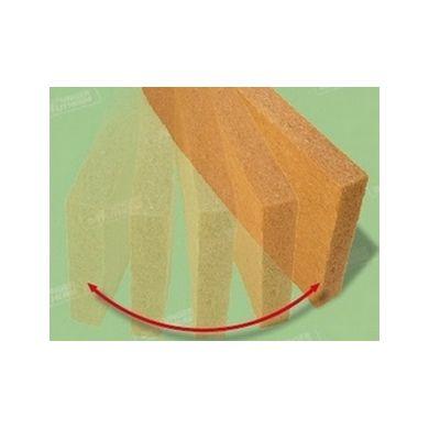 Panneau souple laine de bois UdiFlex (135x57,5 cm)