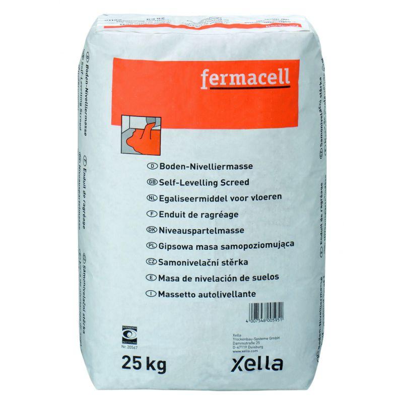 Fermacell - Enduit De Ragréage Pour Plaques De Sol, 25 Kg (1,4Kg