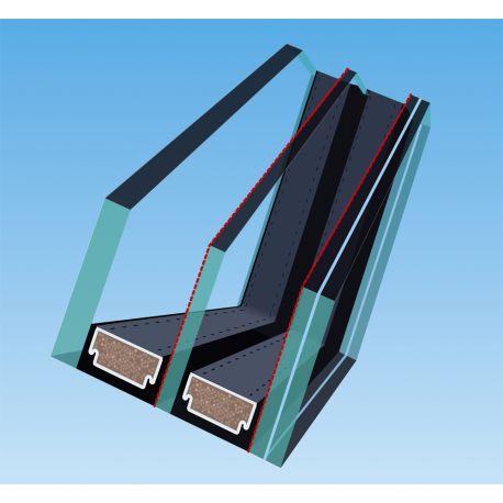 Fenêtre de toît pivotantes pour maisons passives FTT Thermo