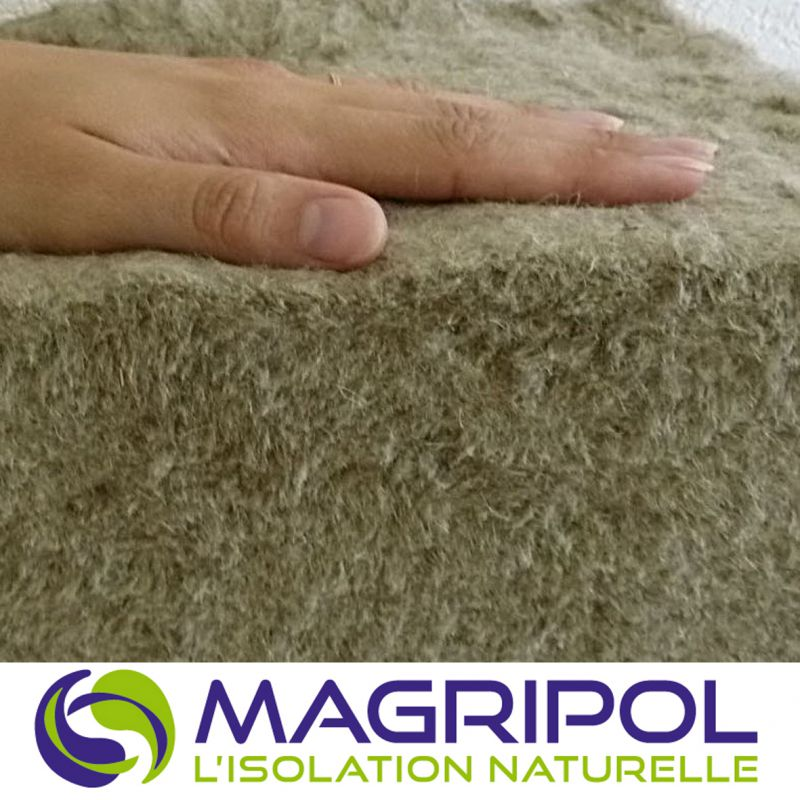 Isolant de laine de lin