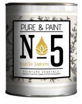 Pure & Paint N°5 - Huile, lasure pour bois