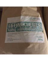 Lot de 23 sacs de 30 kg de colle à base d'argile, seche