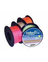 PROF-PRAXIS - Ficelle de maçon 1 mm x 100 m nylon orange fluo