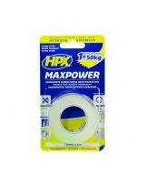 HPX - Ruban de montage max power transparent 19mm x 2m
