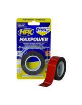 HPX - Ruban de montage max power outdoor 25mm x 1,5m