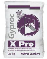 Plâtre de carrière X-PRO (sac de 25kg) - lot de 10
