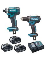 Makita - Combopack à batteries LXT 18V