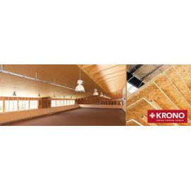Lot de 52,3125 m2 OSB KRONO 2,5m x 0,675m x 22mm