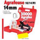 ALSAFIX - 1 agrafeuse 10/14 M1 + 30 000 agrafes PF-14 galva (10 boites)